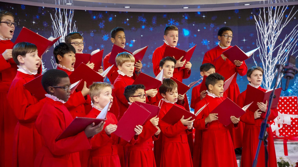 Christmas Choir.Watch St Thomas Choir Sing We Wish You A Merry Christmas On Today