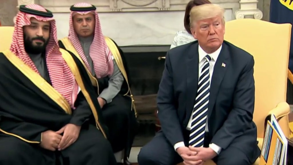 'The enemy of my enemy is my friend': Connecting the dots from Bezos and  AMI to the Saudis