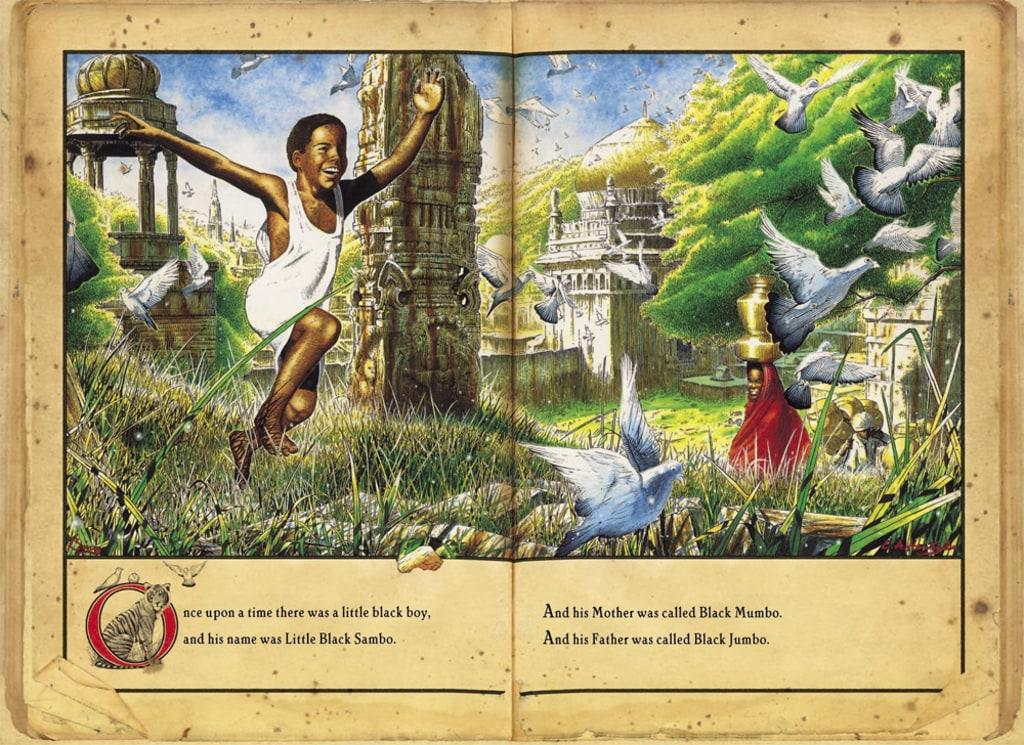"The real-life ""Little Black Sambo"" | Auction Finds |Little Boy Sambo"