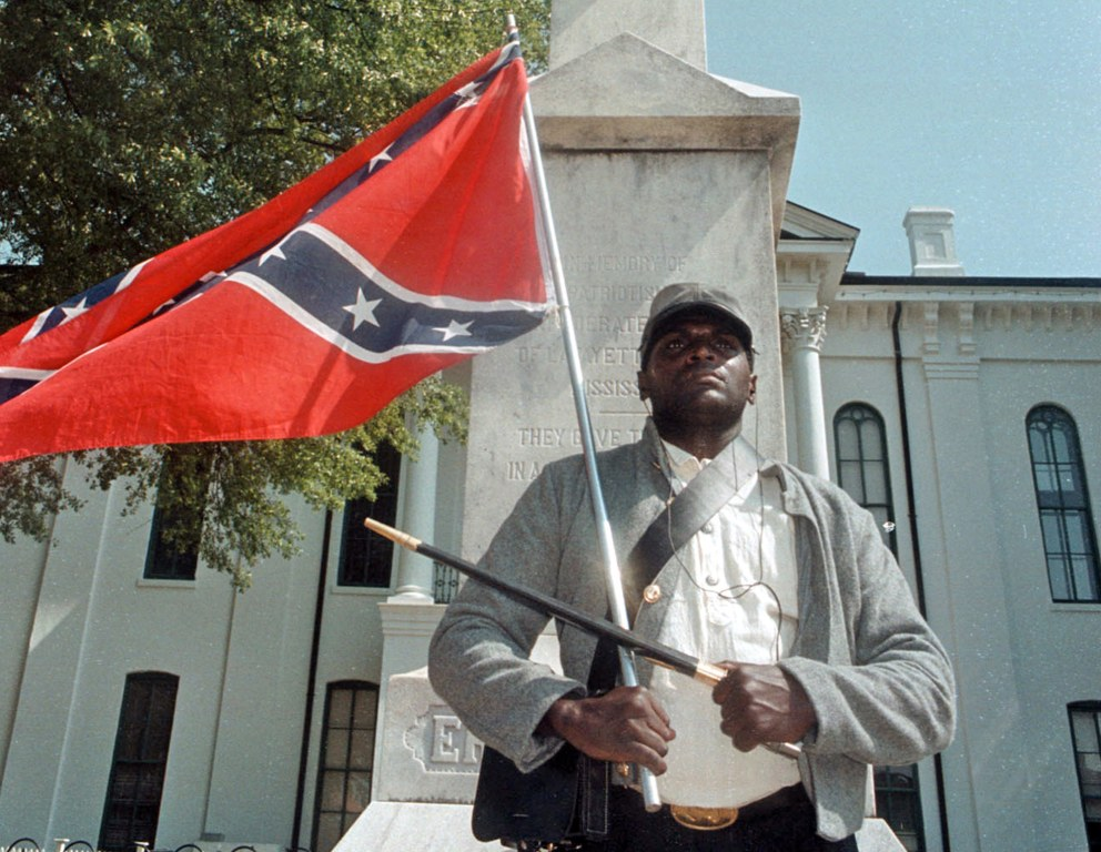 Outspoken Black Confederate Flag Supporter Anthony Hervey