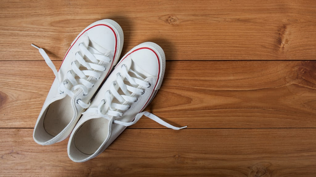 How to clean white Converse and keep