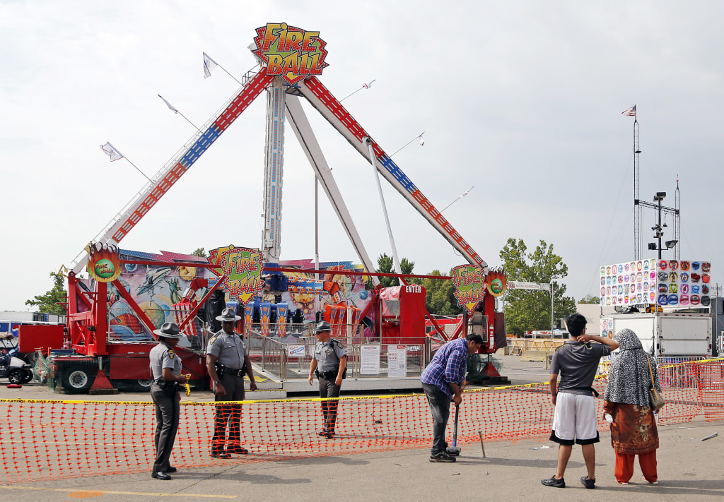 One Dead, Several Hurt in Ohio State Fair Ride Accident