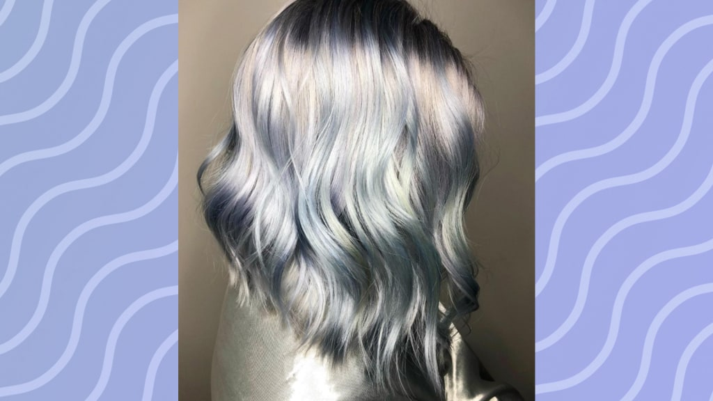 Ghosted Hair Is A New Hair Color Trend This Winter