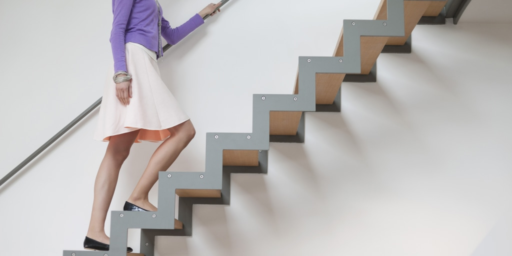 How to live longer: Stair test may predict longevity, death risk