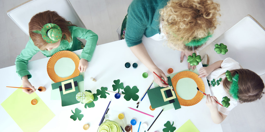 17 Easy St Patrick S Day Crafts For Kids