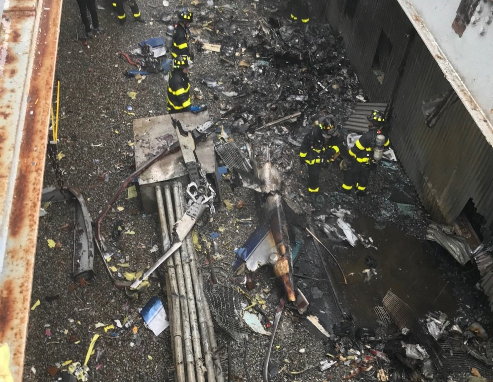 Pilot killed in NYC helicopter crash 'did not know where he