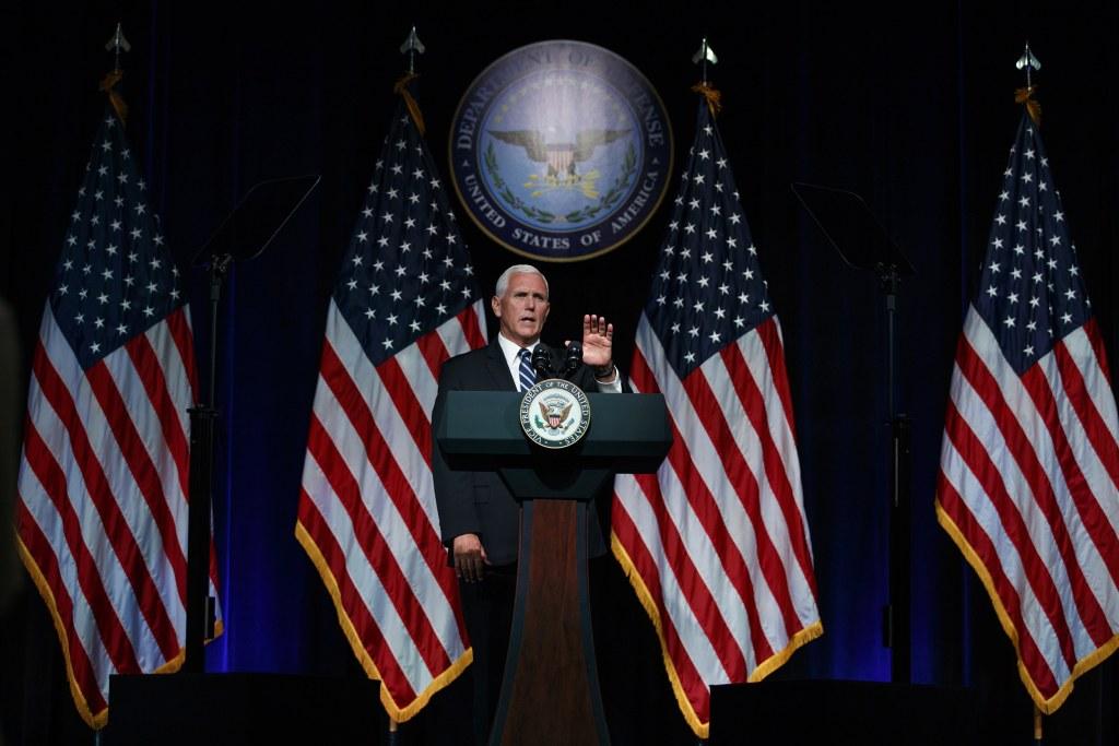 One American flag flies': Pence defends barring pride flags