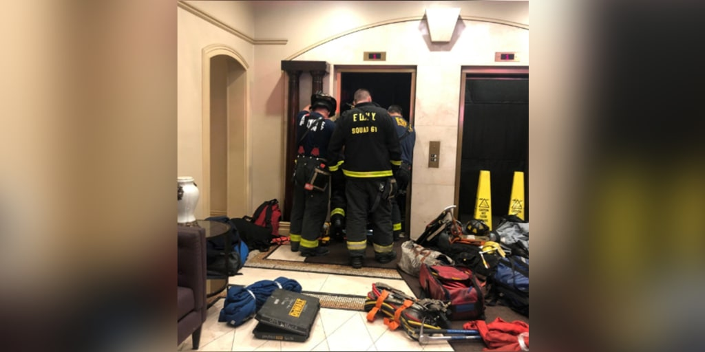 New York man crushed to death after elevator malfunctions
