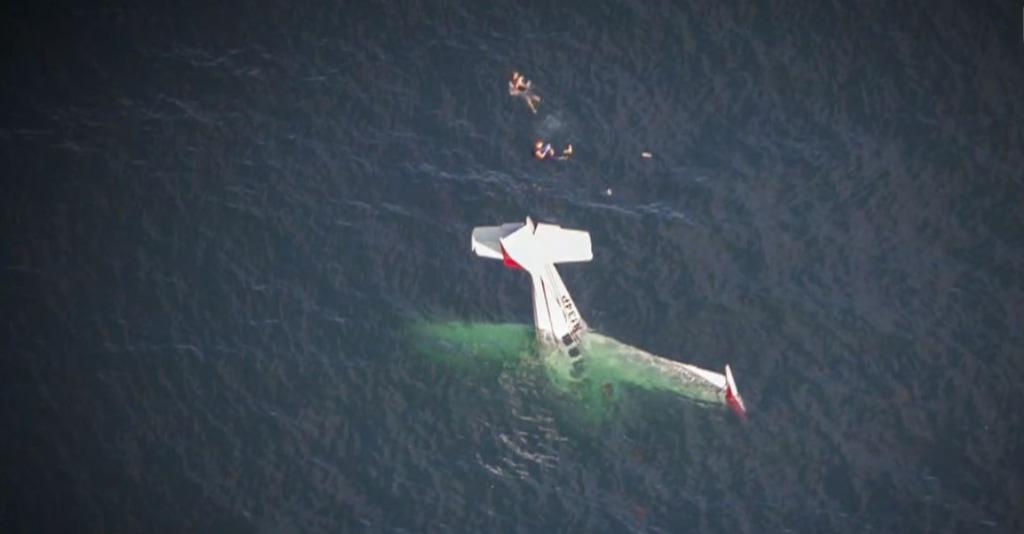 Plane crash into California ocean was no stunt, pilot who