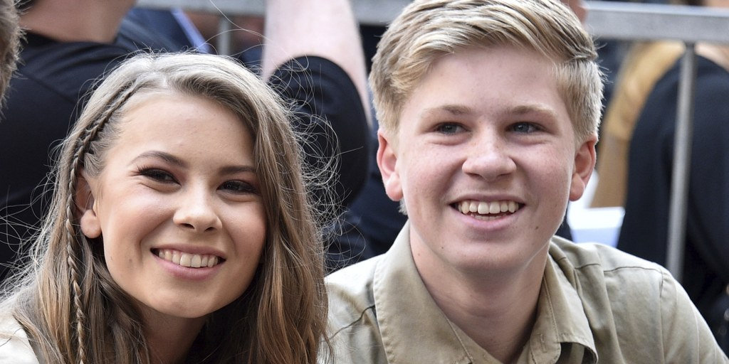 Steve Irwin S 15 Year Old Son Opens Up About Walking Sister Bindi Down The Aisle 5,863 likes · 42 talking about this. steve irwin s 15 year old son opens up