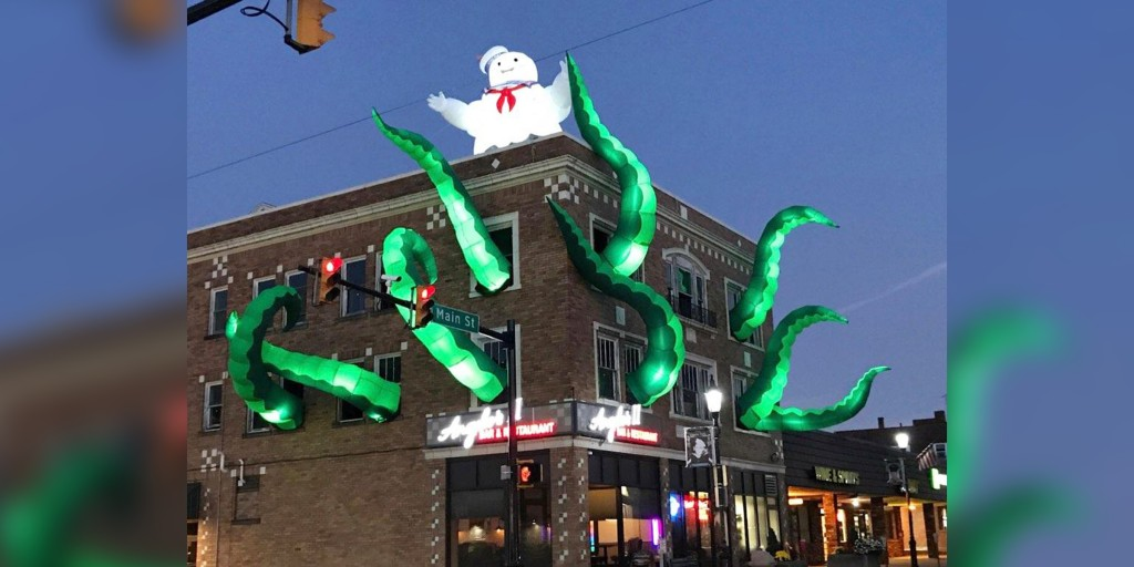 Restaurant Nails Ghostbusters Decorations For Halloween