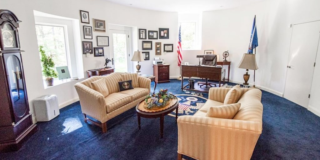 This House Has Its Own Oval Office Inside Complete With