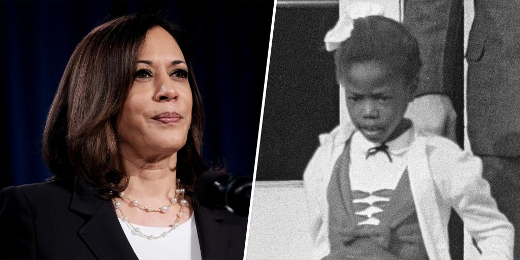 Illustration Of Kamala Harris And Ruby Bridges Goes Viral