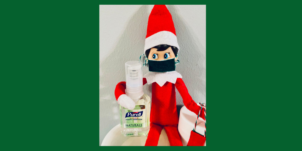 Christmas 2020 Elf On The Shelf In Isolation Goes Viral