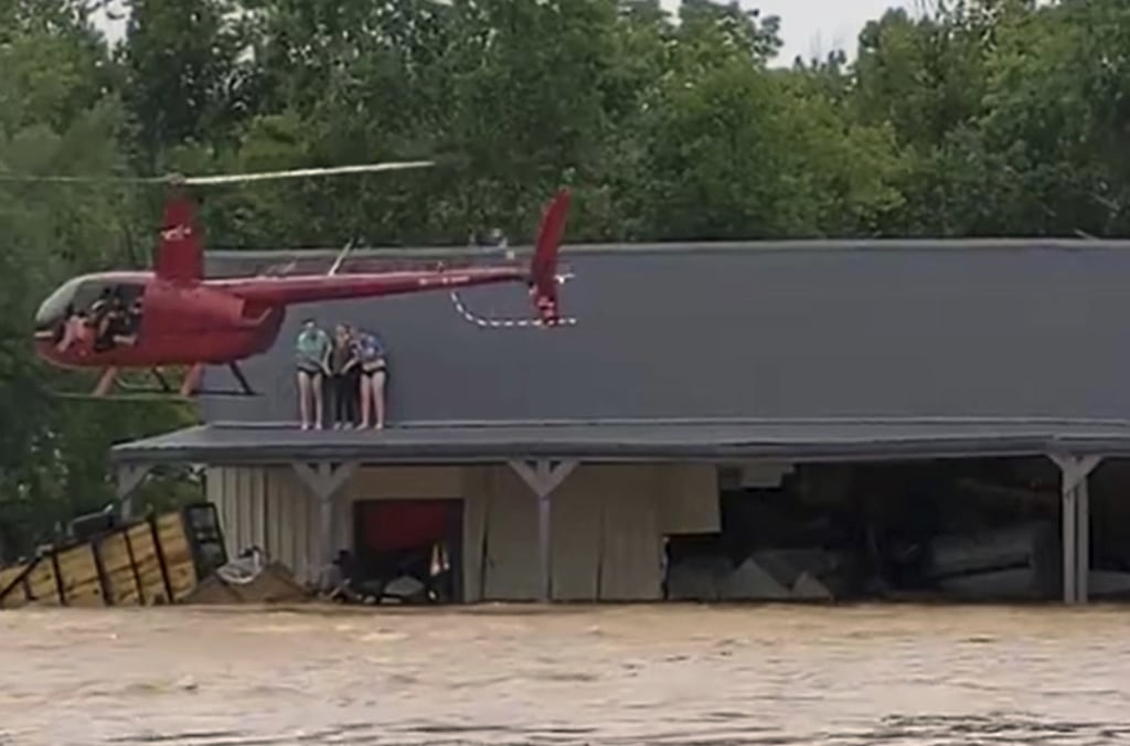 Nashville Helicopter Pilot and Fiancée Rescue 17 People from Tennessee Floods