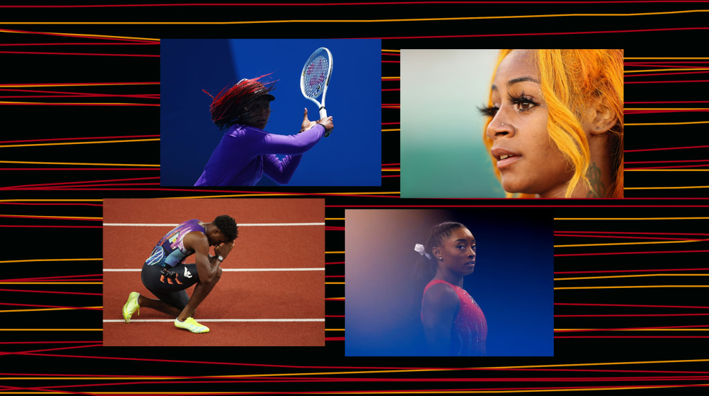 nbcnews.com - Char Adams - Young Black athletes are launching a mental health revolution