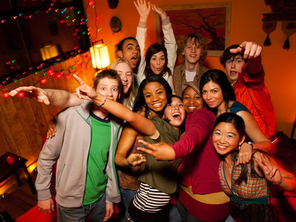 Teen party tube