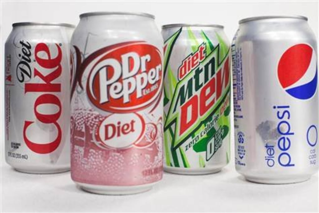 what one diet soda does to your body
