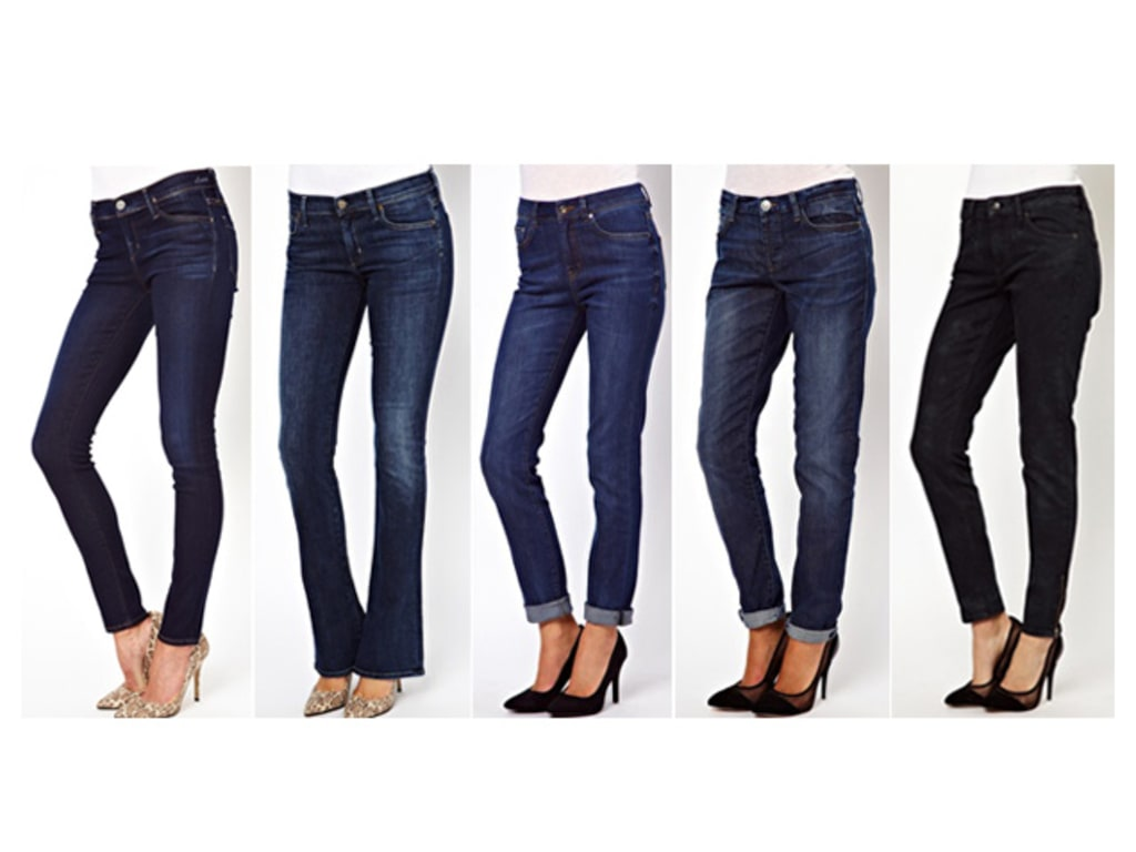 a3e16218ed0168 Best Jeans for Women by Body Shape: Curvy, Tall, Petite