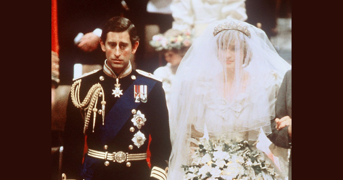 Charles And Diana Wedding.The Wedding Of Charles And Diana