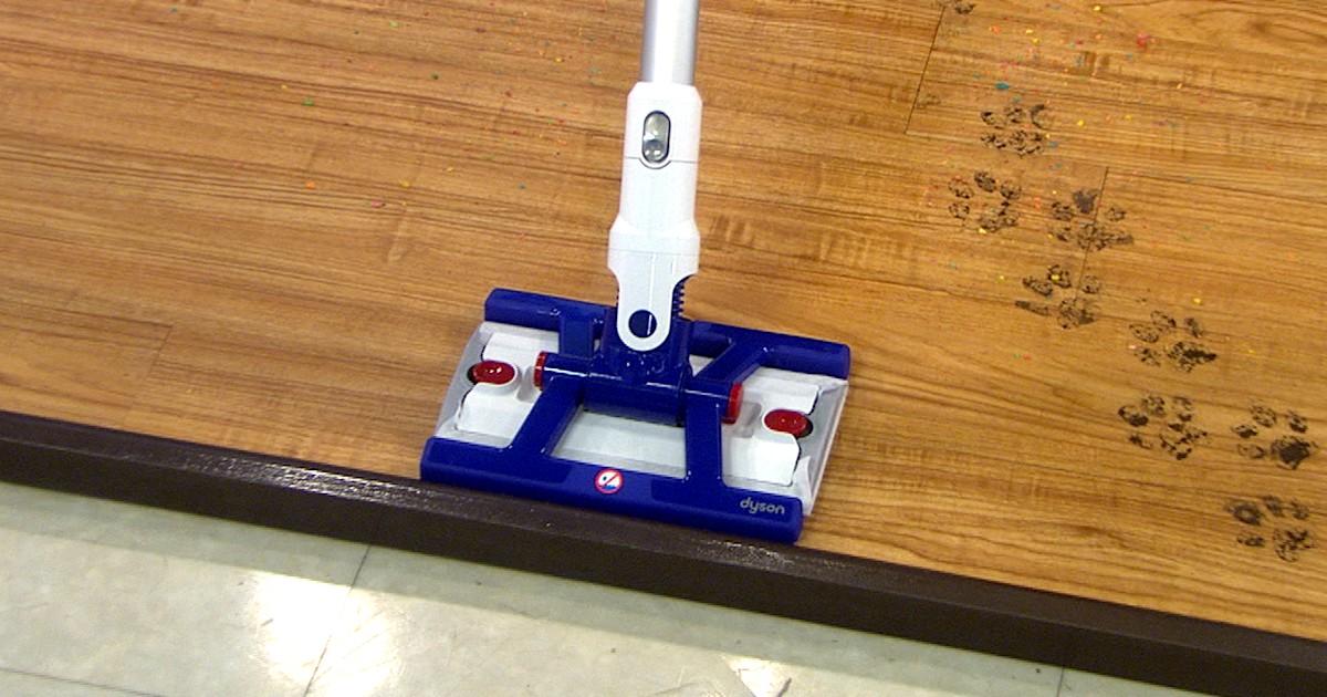 Dyson unveils new vacuum-mop invention