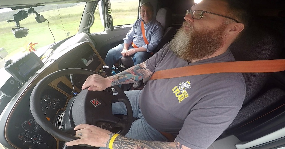 This Long Haul Trucker Has Found The Road To Healthy Eating