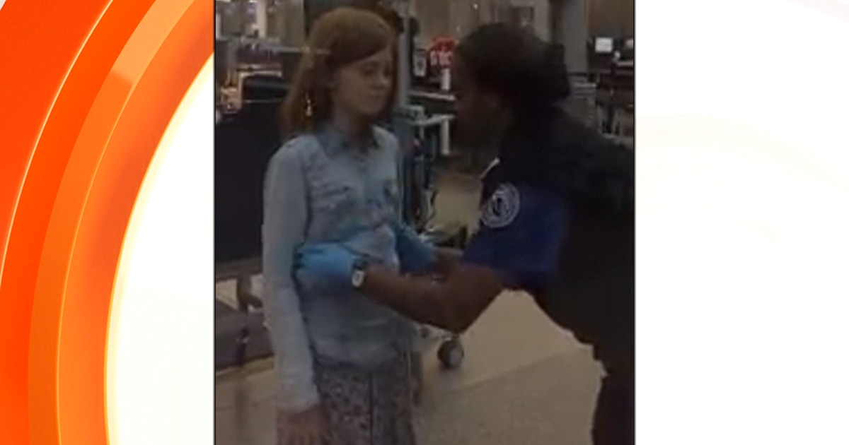 Father outraged by 2 minute TSA pat-down on 10-year-old