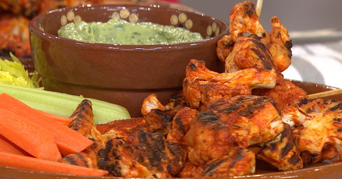 Joy Bauer Cuts The Calories From Chicken Wings Potato Salad