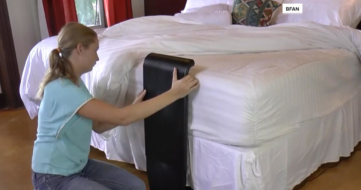 Fan Designed To Blow Cool Air Between Sheets