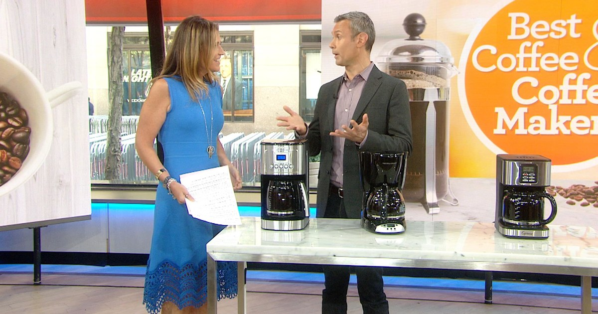 Consumer Reports Says The Top Rated Coffee Maker Is