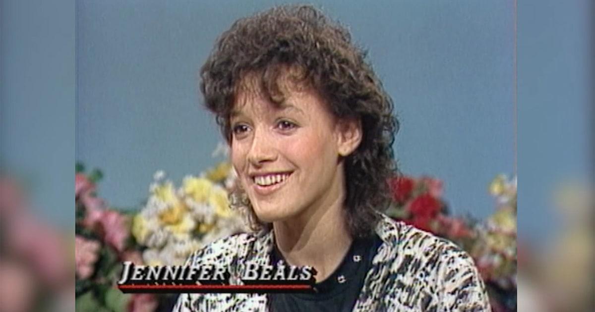 Flashback Jennifer Beals Talks Flashdance In 1983