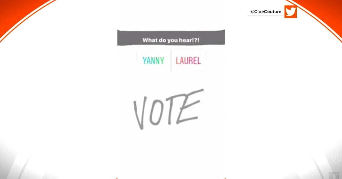 Do you hear 'Laurel' or 'Yanny'? Audio debate has the internet buzzing