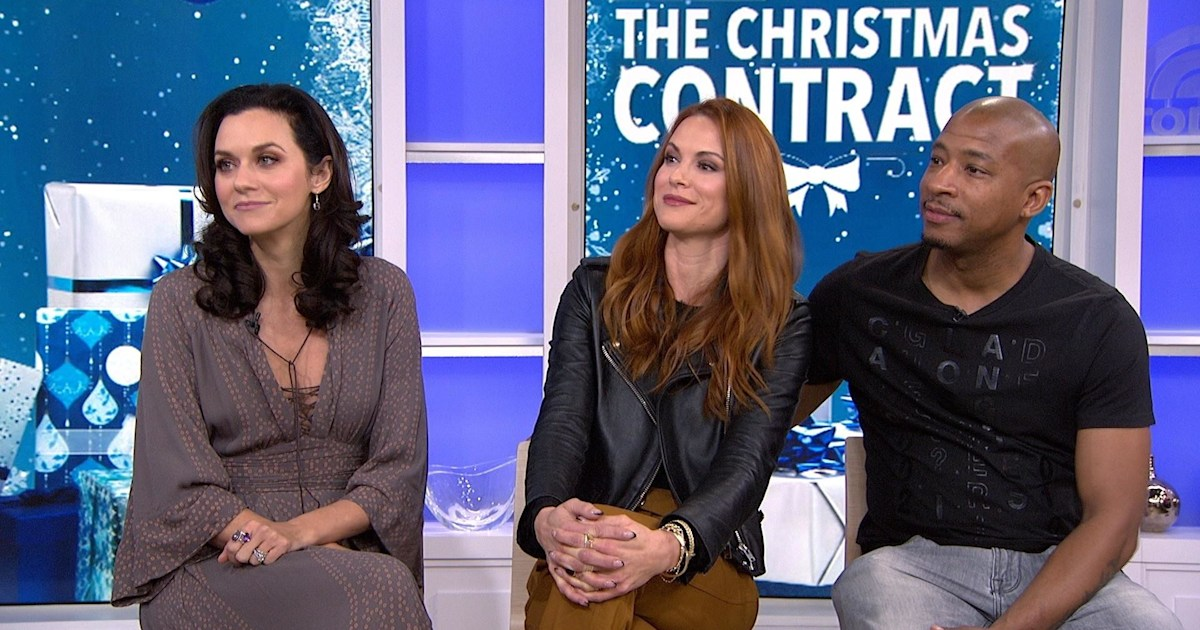 One Tree Hill Stars Talk Reuniting For The Christmas Contract