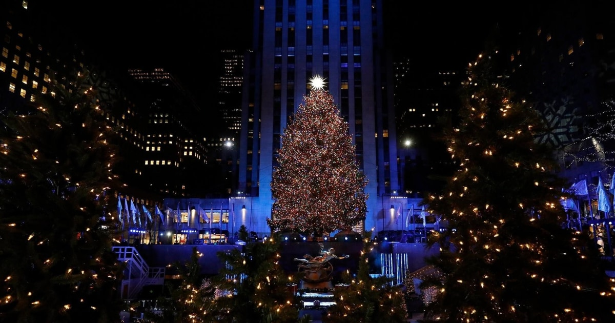 The Story Behind The 2018 Rockefeller Center Christmas Tree