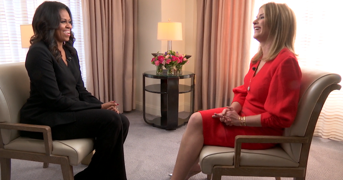 Michelle Obama tells Jenna Bush Hager about favorite books
