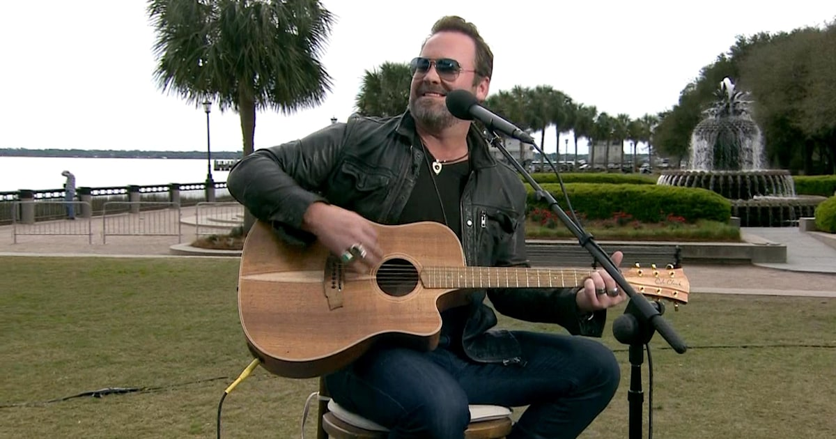 Lee Brice: Country star Lee Brice performs 'Rumor,' a track off his self-titled album, from Charle...