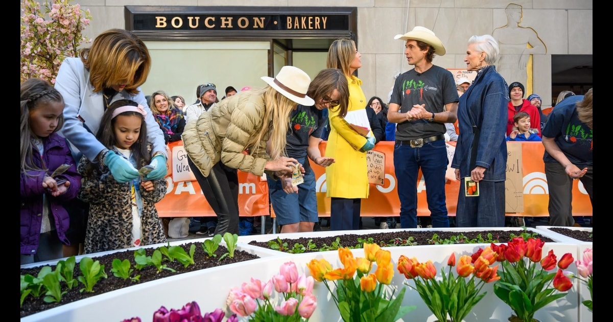today.com - Plant a Seed Day: Kimbal and Maye Musk want families to grow healthy food