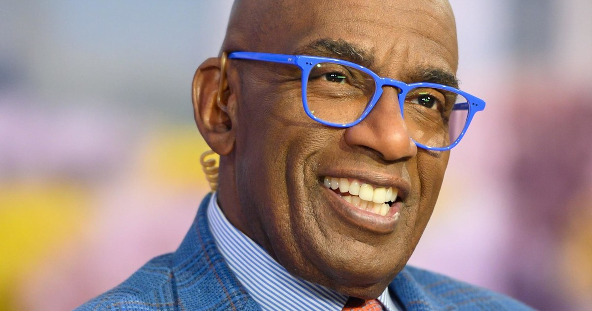 Al Roker S New Periwinkle Blue Glasses Are A Viral Hit