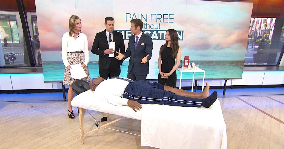 Pain relief without drugs: Dr. Oz's tips to treat aches