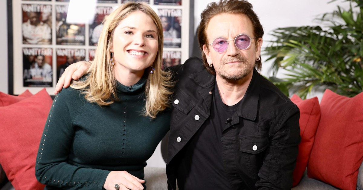 The special Bible edition Bono read to his children