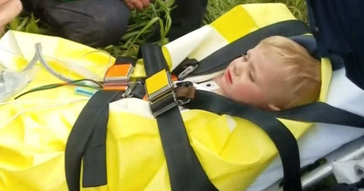 Toddler found alive after 3 days missing in Kentucky wilderness