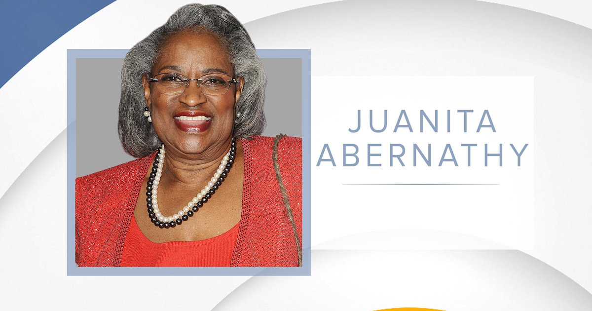 Civil rights advocate Juanita Abernathy dies