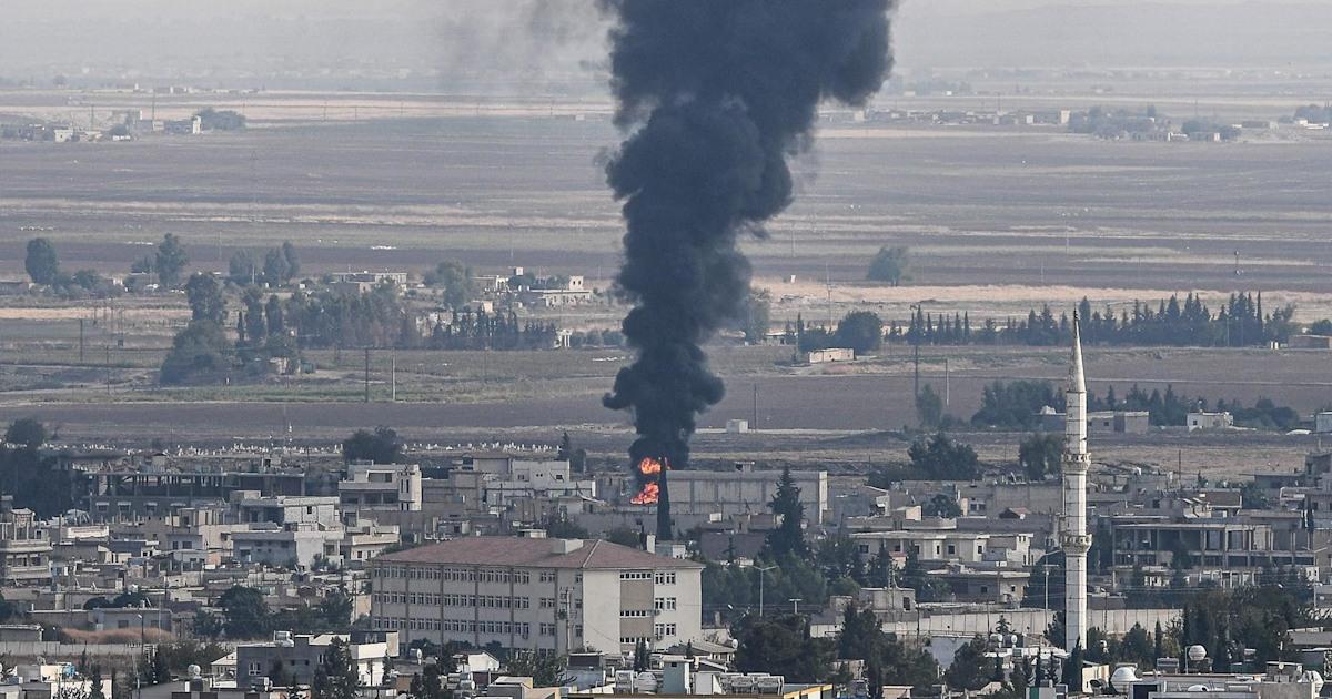 社長の切り札という人のクルド人は'happy'がトルコの攻撃
