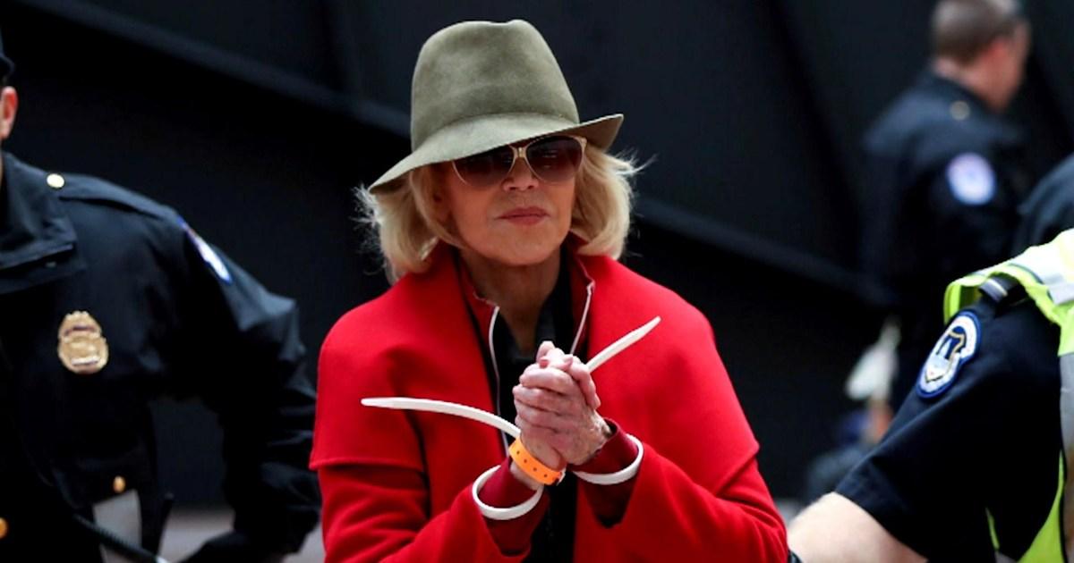 Jane Fonda: My Fire Drill Freitag wird 'einen Unterschied machen'