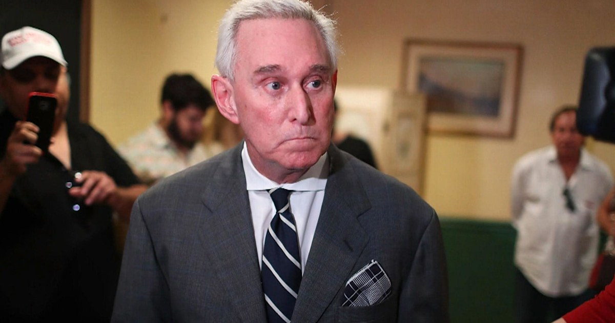Trump ally Roger Stone wants judge disqualified