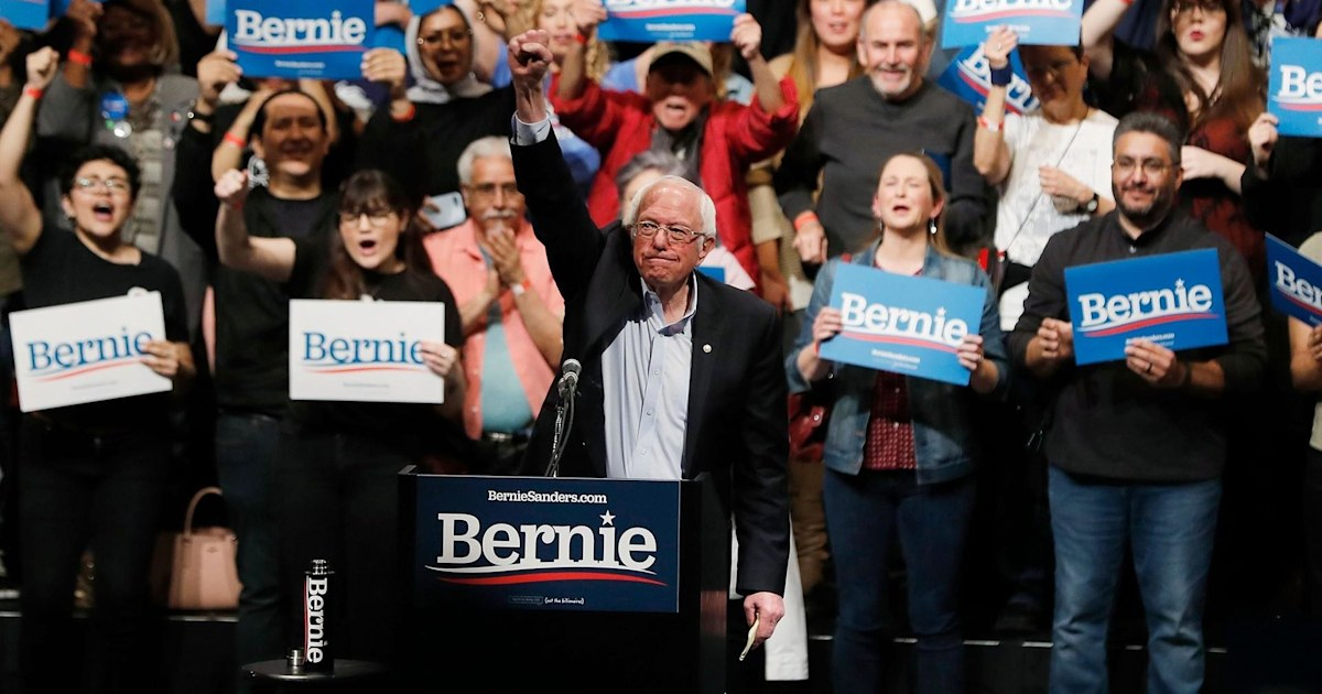 Can other Democratic candidates still take the lead from Bernie Sanders?
