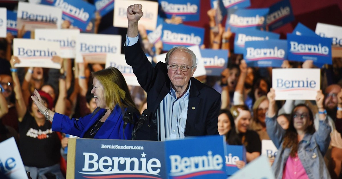 Bernie Sanders wins Nevada caucus, becomes clear frontrunner