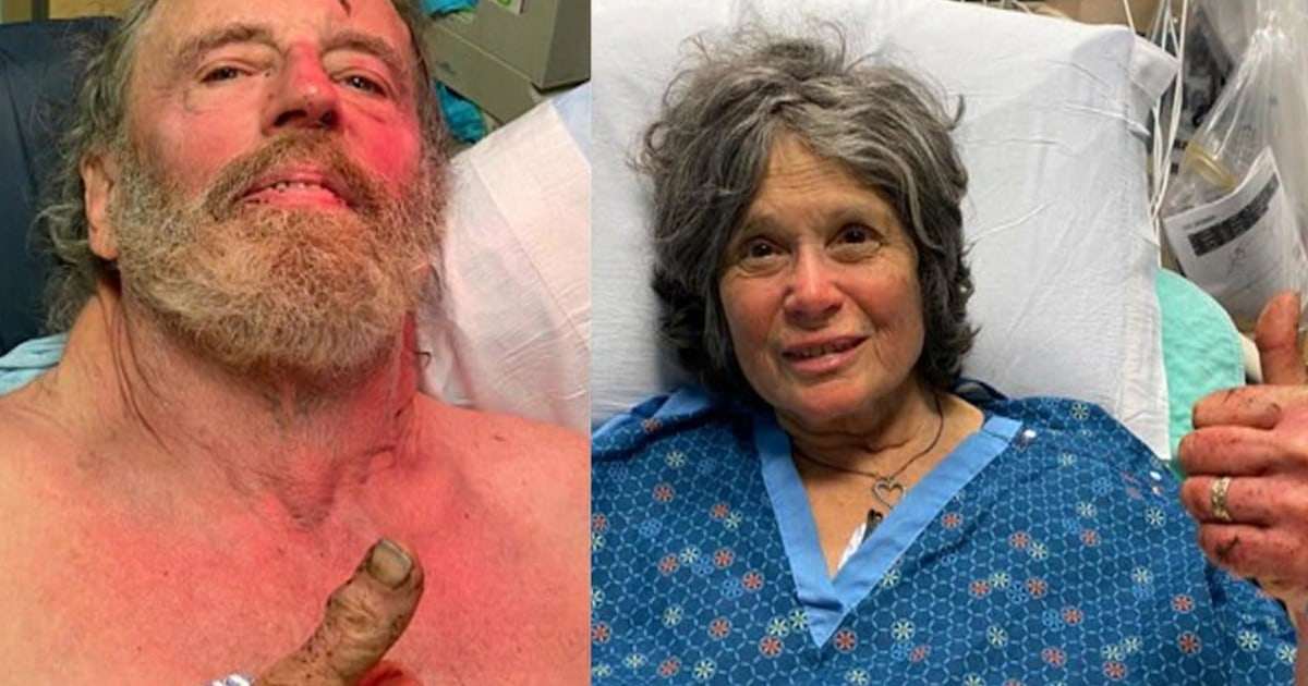 Missing couple found alive after a week in the wild