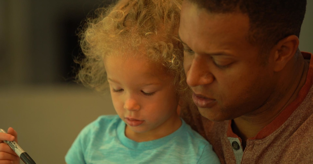 Recess with TODAY: Craig Melvin's family rainbow art project