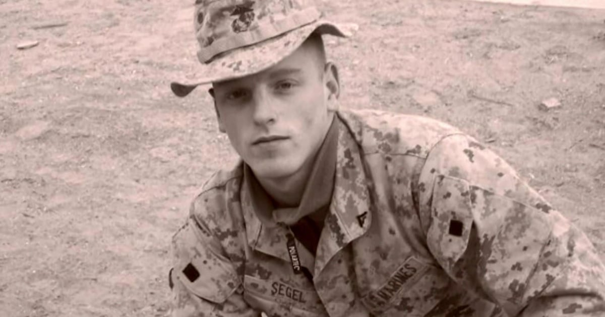 Fallen Marine's sister and fellow soldier honor his legacy